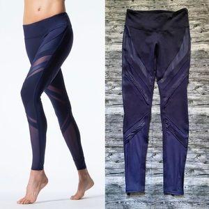 Alo Yoga - Navy Epic Mesh Leggings
